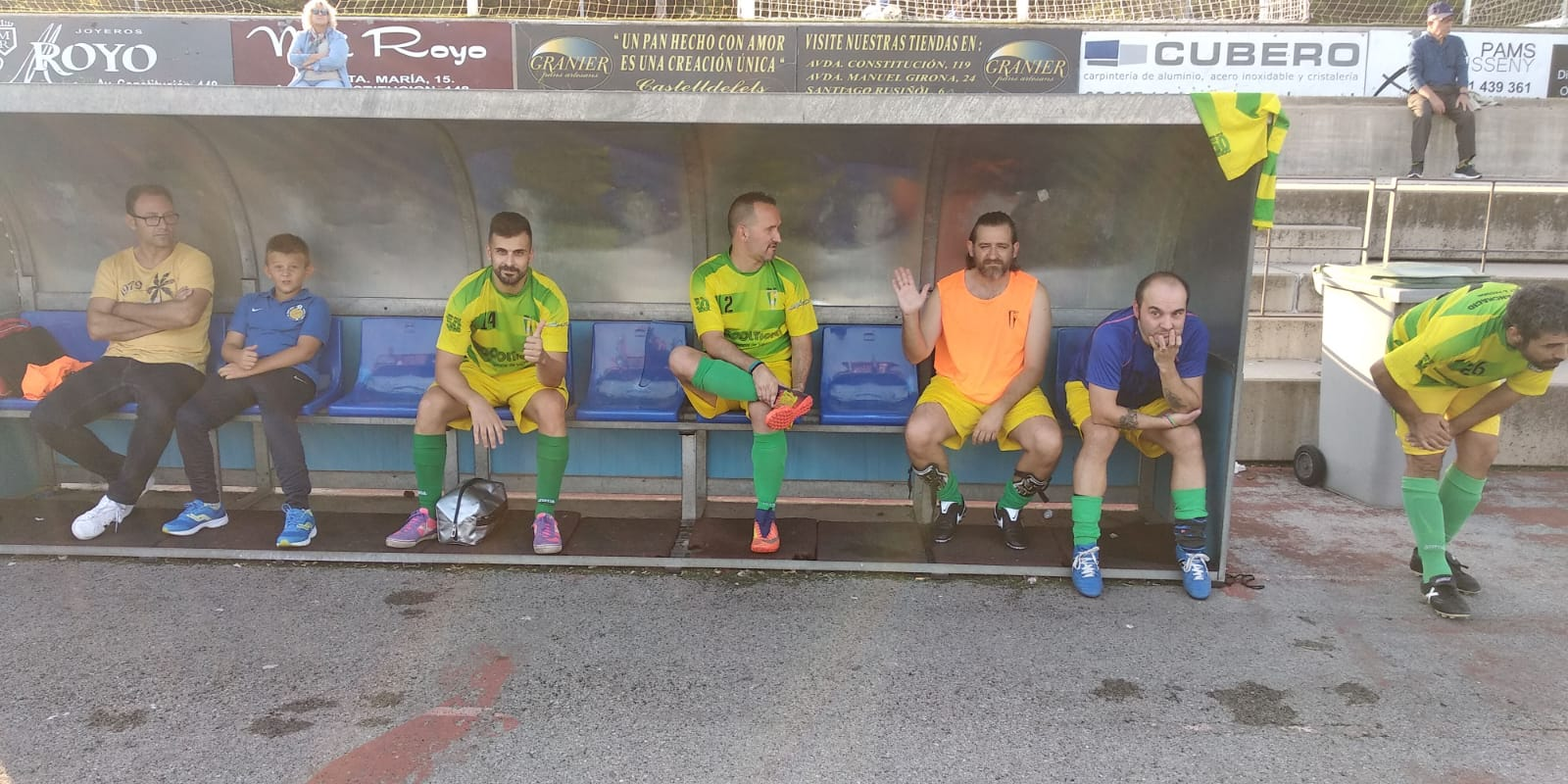 CF Can Roca 74, 1 - UD San Pancracio, 1