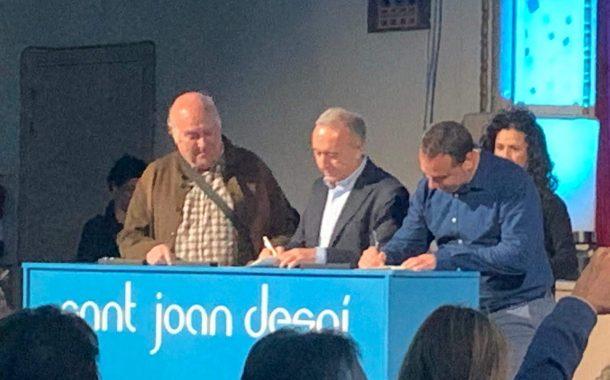 Convenio de colaboración con el ayuntamiento de Sant Joan Despí