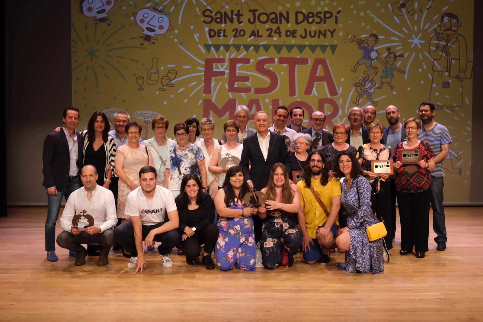 La UD San Pancracio, als «Premis Despí 2019»
