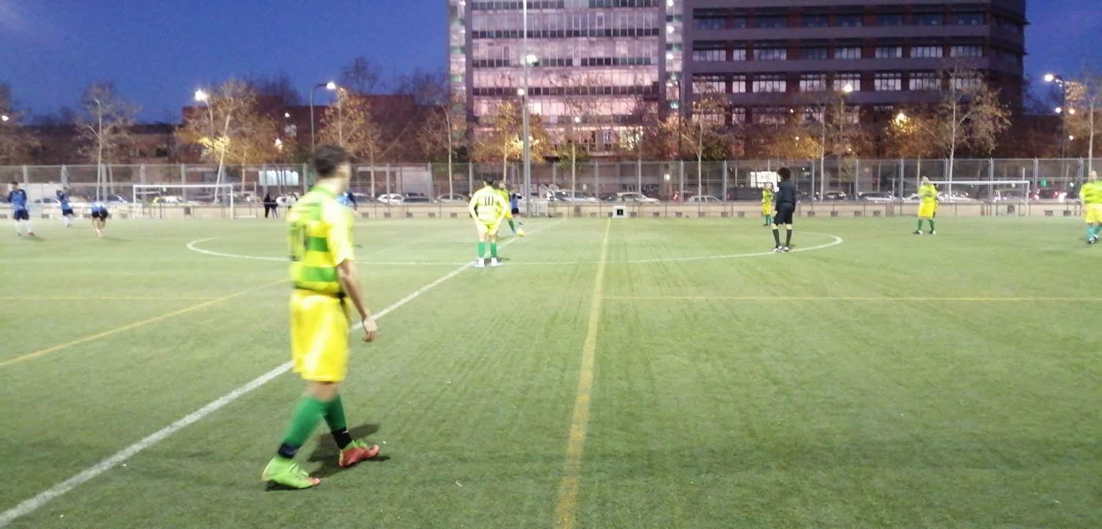 Marina Atlético, 3 - UD San Pancracio, 0