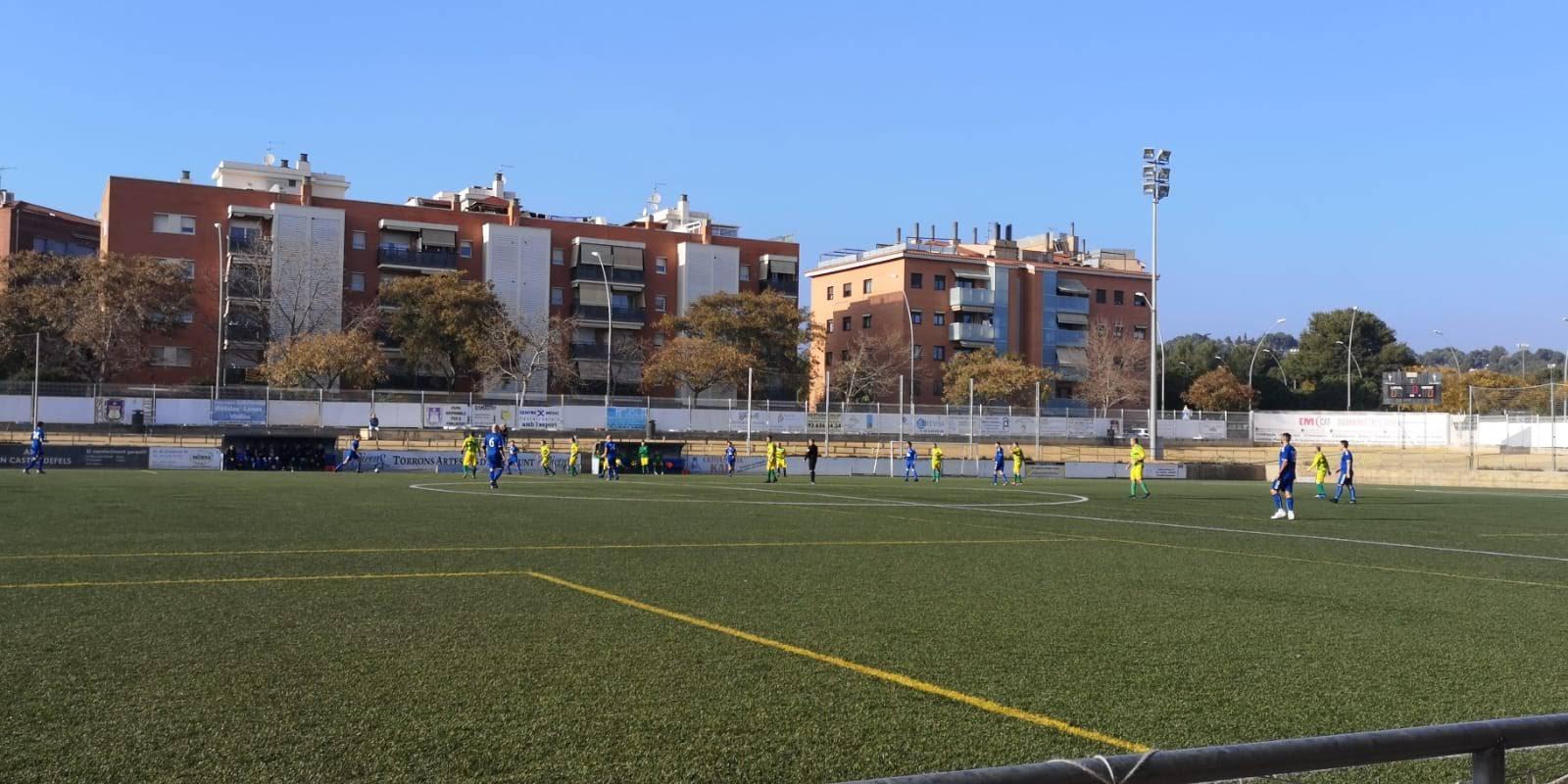 Atlétic Castelldefels, 0 - San Pancracio, 4